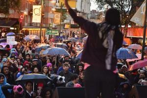 """Protest """"Marcha de Las Putas"""""""